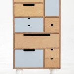 Play Play™ Original - Tall Chest with white turned legs