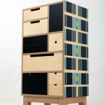Tall Chest Lesotho Black Plywood Base