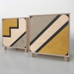 Ubude Cabinets with Step & Stripe Patterns